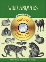 Wild Animals CD-ROM and Book (Dover Pictorial Archives) артикул 552a.