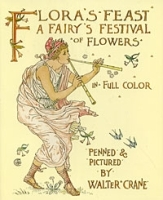 Flora's Feast: A Fairy's Festival of Flowers in Full Color артикул 9710a.